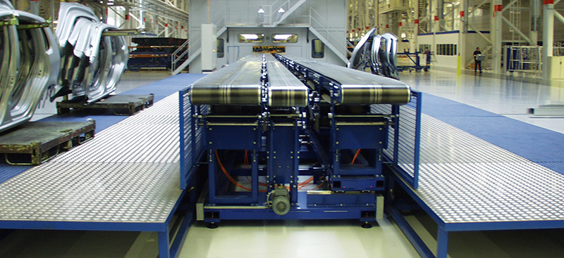 Belt, roller and chain conveyors - from part conveyor belts to